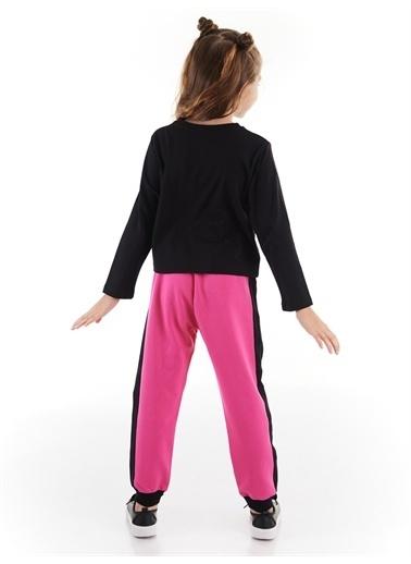 Denokids Rock And Bunny Kız Pantolon Takım Renkli